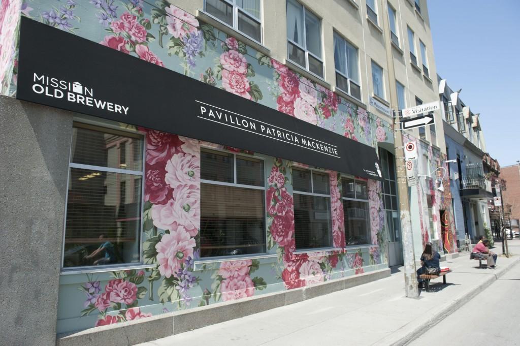 Patricia Mackenzie Pavilion located at 1301 Blvd. De Maisonneuve E.