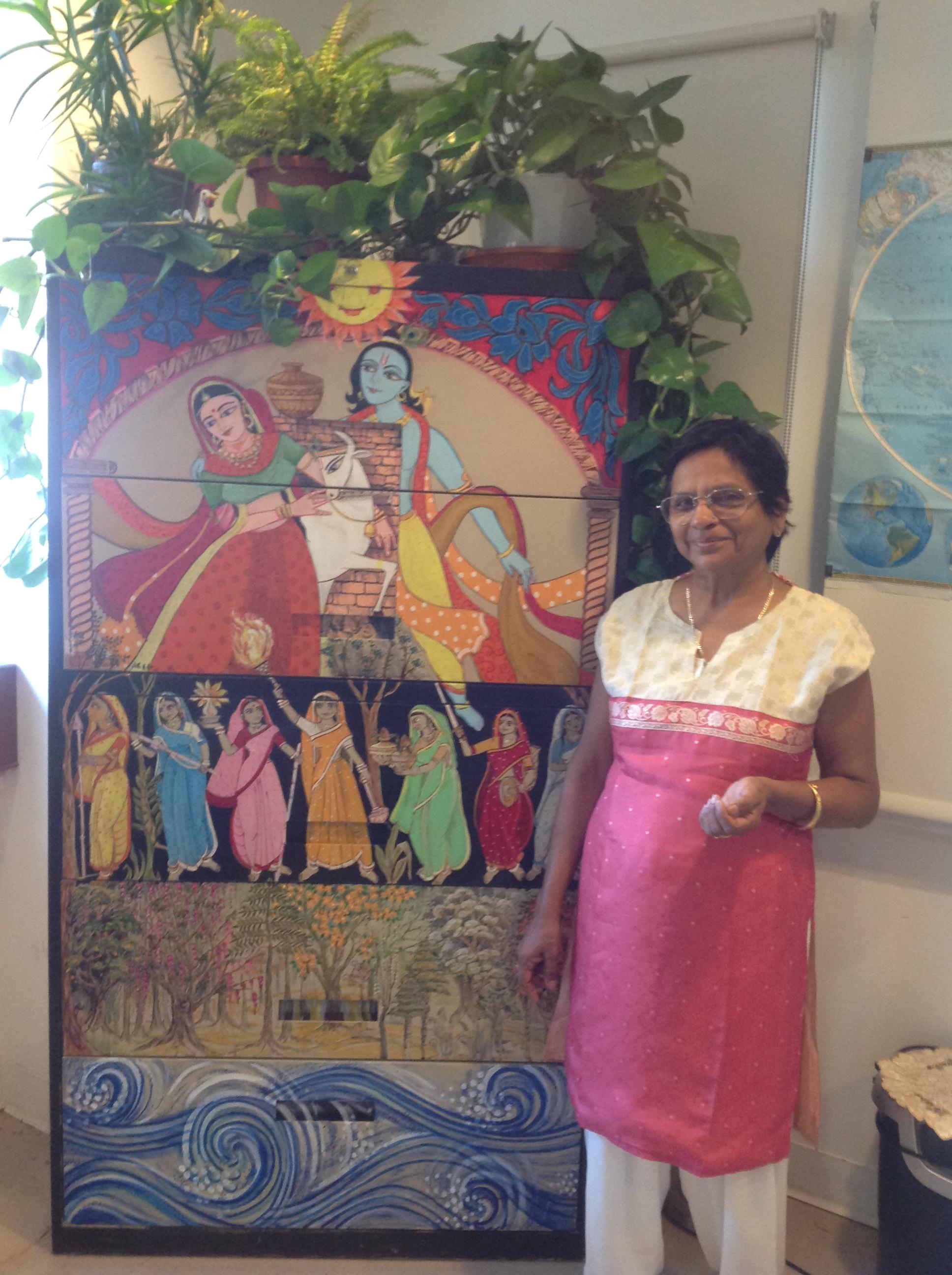 Sunita Raja et son oeuvre dart